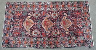 HAND KNOTTED MAHABAD PERSIAN RUG