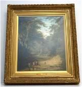 JAMES STARK (1794-1859) OIL ON CANVAS
