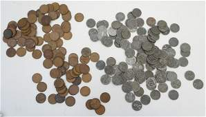 LARGE LOT WHEAT BACK PENNIES