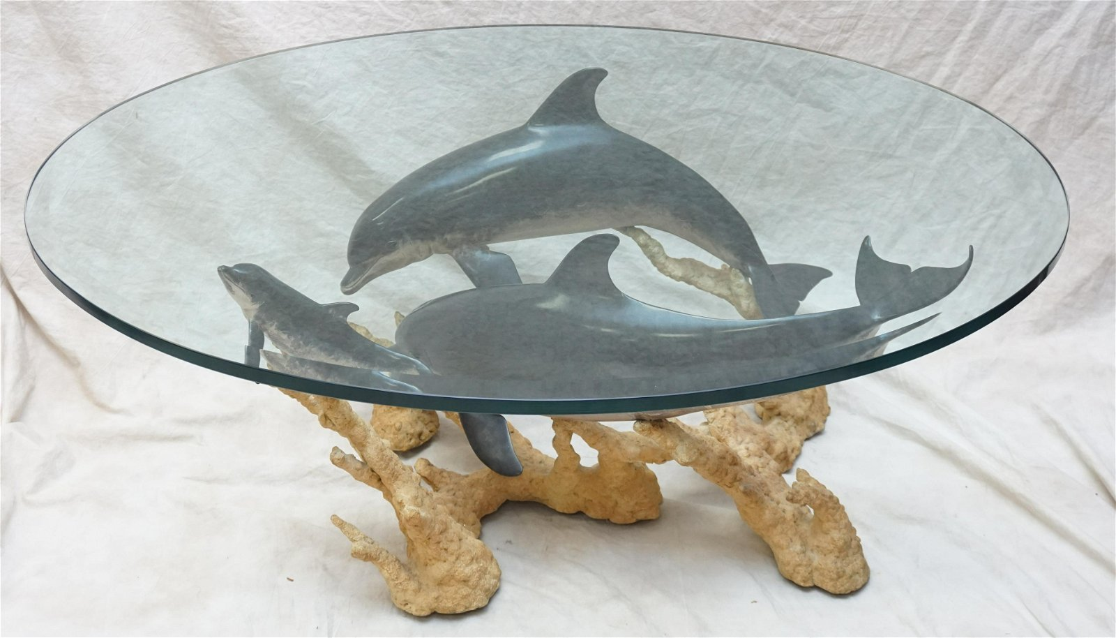 WYLAND DOLPHIN REEF COFFEE TABLE