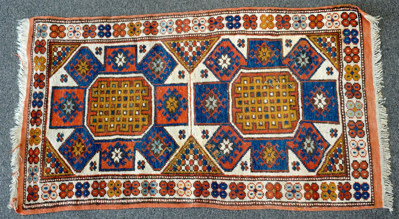 TURKISH HAND KNOTTED WOOL RUG