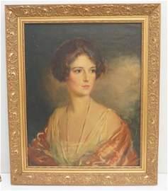1921 CLARENCE R. MATTEI (1883-1945) PORTRAIT