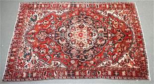 HAND KNOTTED PERSIAN BAKHTIARI RUG