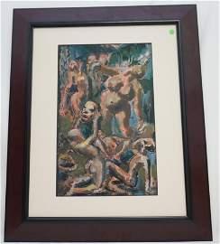 1938 WILLIAM MELTON HALSEY NUDE DANCERS