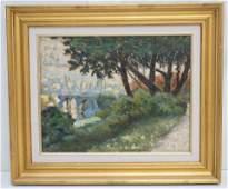 EUGENE GABRIEL ANDRE (1860-1920) OIL