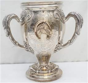 LARGE 1912 STERLING HISTORIC KENTUCKY TROPHY