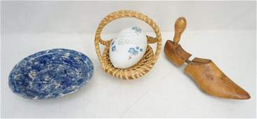 4 PC ANTIQUE AMERICAN GROUP