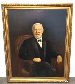 MEYER DANTZIG (1876-1939) PORTRAIT OF A GENTLEMAN