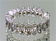 PLATINUM DIAMOND ETERNITY BAND 900 GRAMS