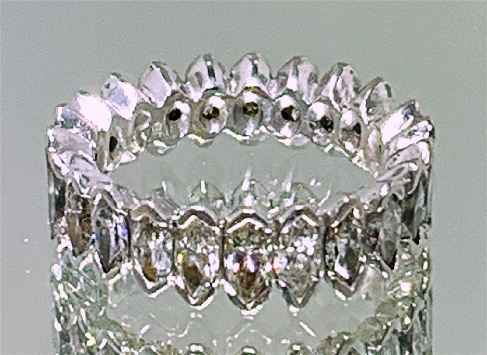 PLATINUM DIAMOND ETERNITY BAND (9.00 GRAMS)