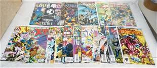 LARGE GROUP DC BATMAN & MARVEL X-MEN, SPIDERMAN COMICS