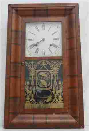 ANTIQUE FARMERS EXCHANGE WALL CLOCK