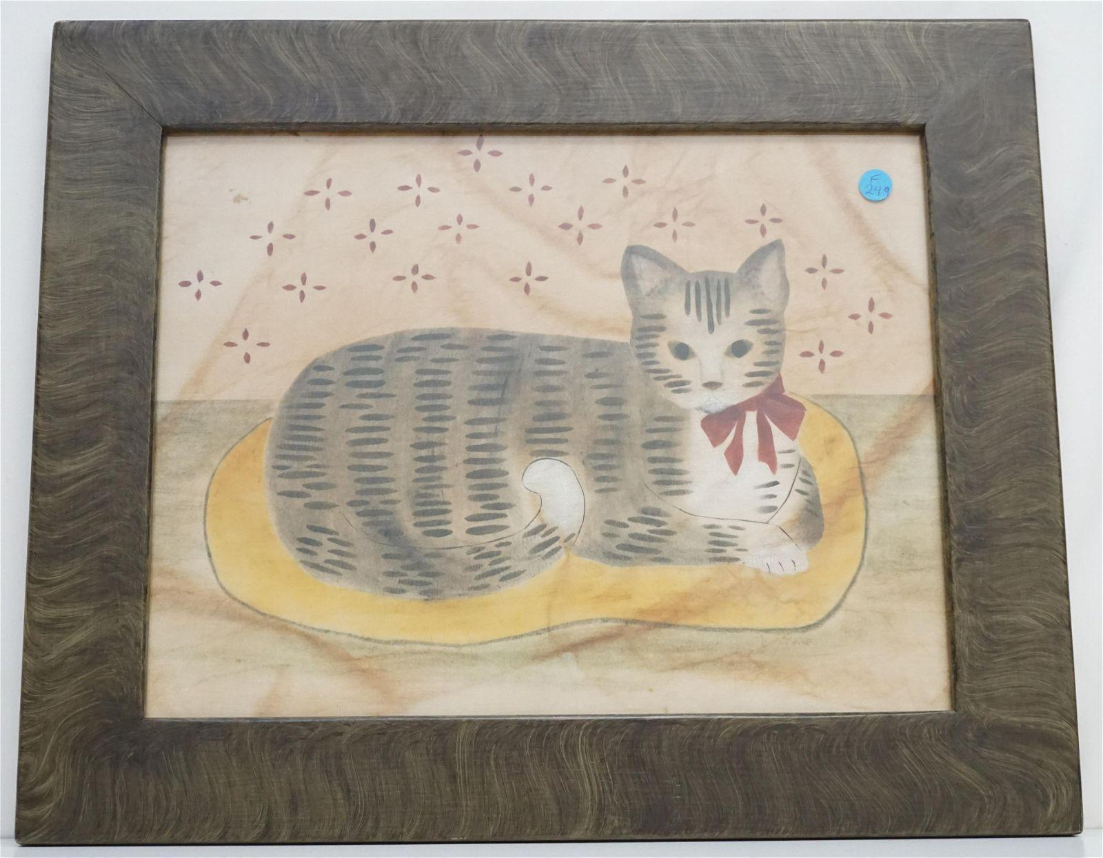 AMERICAN FOLK ART CAT THEOREM