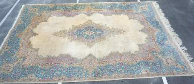 PERSIAN KERMAN PALATIAL 18 FT WOOL RUG