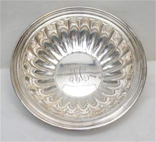 GORHAM STERLING SILVER FLUTED BOWL