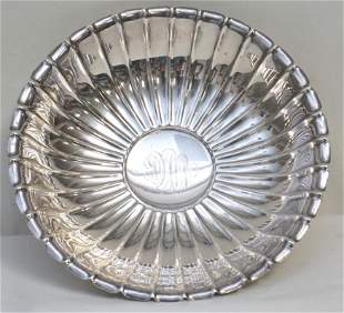 AMERICAN STERLING SILVER FLUTED BOWL