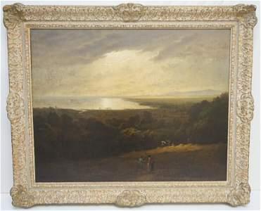 RAMSEY RICHARD REINAGLE (1775-1862) LANDSCAPE