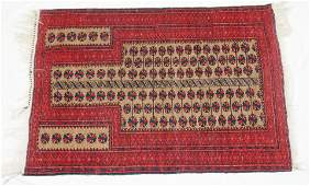 ANTIQUE HAND KNOTTED BALUCH PRAYER RUG