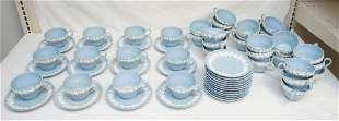 62 WEDGWOOD BLUE QUEENSWARE CHINA