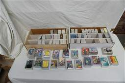 LARGE LOT OF RETRO DC & MARVEL COMIC TRADING CARD SETS