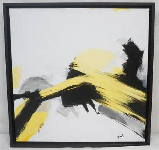 """CONTEMPORARY ABSTRACT """"HAL"""""""