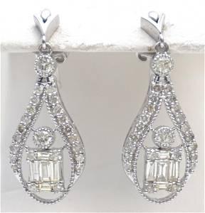 PEAR DROP DIAMOND EARRINGS