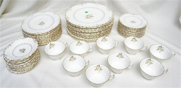 57 PC ROYAL CROWN DERBY WENTWORTH CHINA