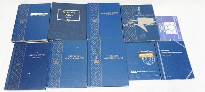 9 BOOKS ANTIQUE & VINTAGE COINS
