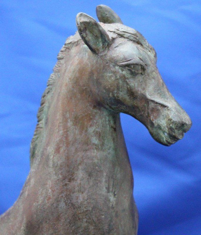 MID CENTURY FREDERICK COOPER LARGE HORSE SCULPTURE - 2