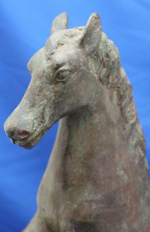 MID CENTURY FREDERICK COOPER LARGE HORSE SCULPTURE - 4