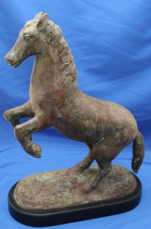 MID CENTURY FREDERICK COOPER LARGE HORSE SCULPTURE - 7