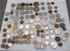 LOT OF 88 MISC COIN GROUP USA + INTERNATIONAL
