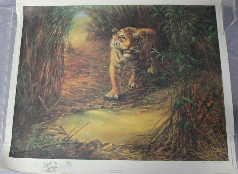 2 SPENCER ROBERTS LTD ED LITHOS