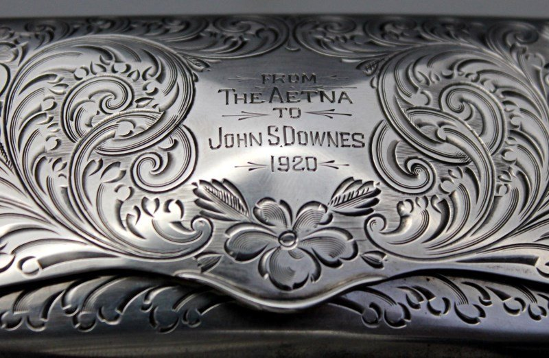 STERLING SILVER EYEGLASS CASE 1920 - 10