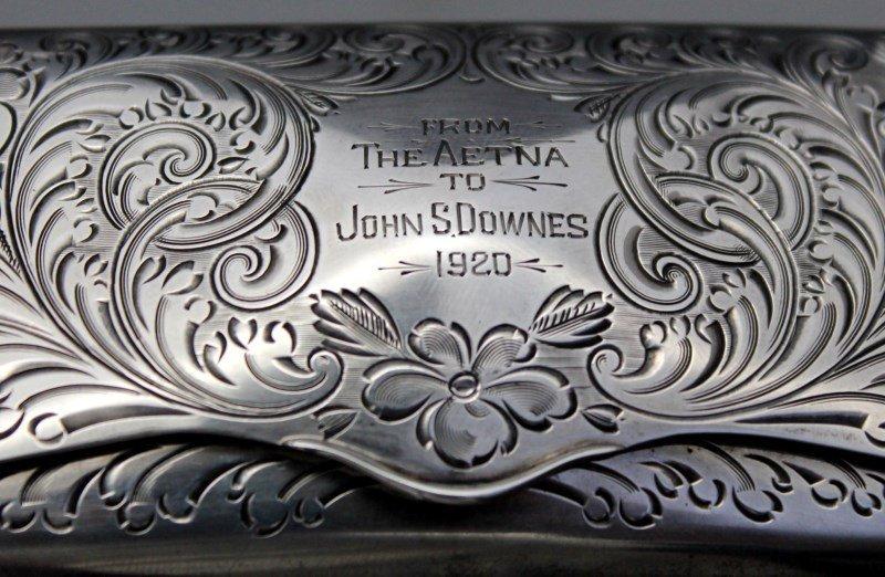 STERLING SILVER EYEGLASS CASE 1920 - 10