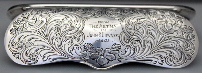 STERLING SILVER EYEGLASS CASE 1920 - 2