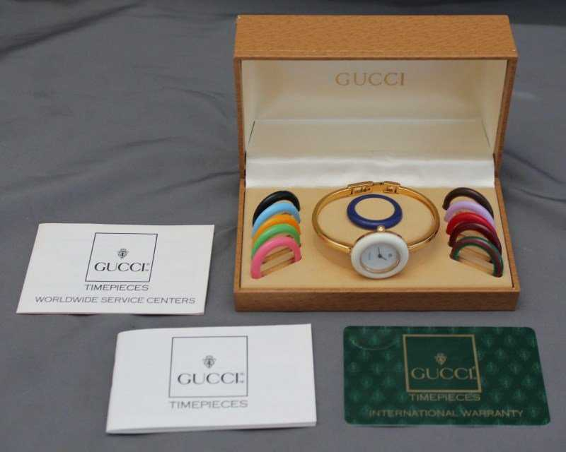6908528c40e63 AUTHENTIC GUCCI WATCH 1100-L LADIES