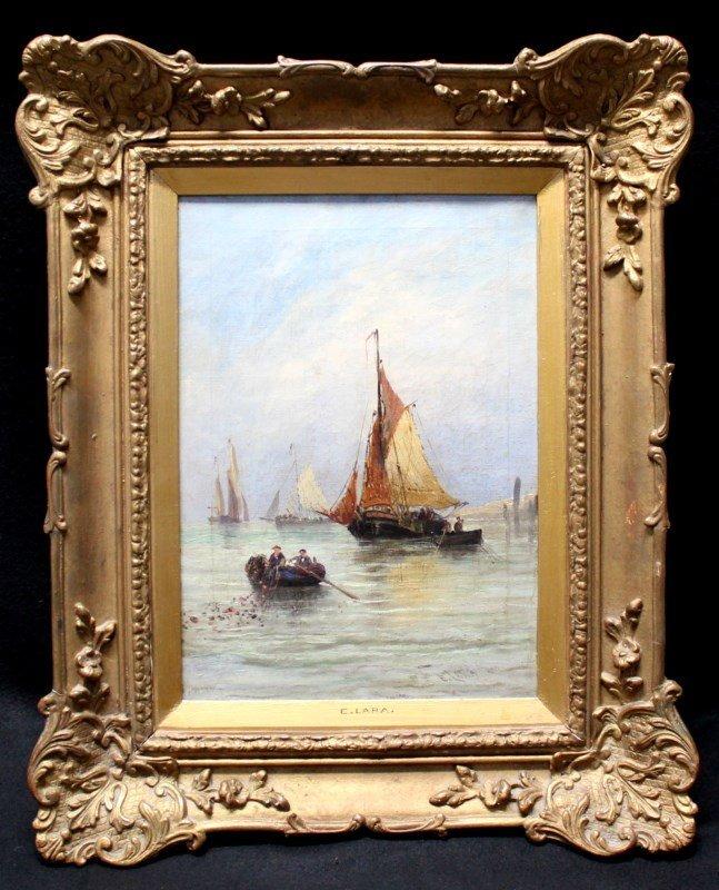 ERNEST WILLIAM LARA (1870-1940) OIL