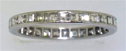 PLATINUM DIAMOND ETERNITY BAND 180 GRAMS