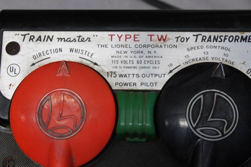 LIONEL TRAIN MASTER TYPE TW 1950S TRANSFORMER - 2