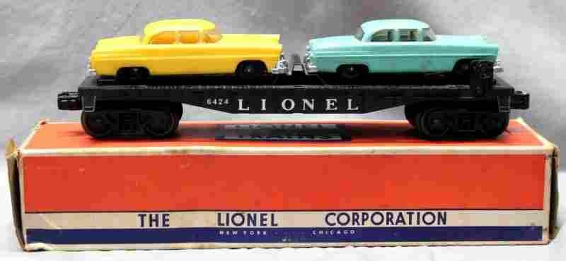 LIONEL TRAINS AUTOMOBILE CAR No. 6424
