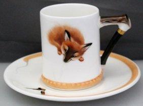 Royal Doulton Reynard The Fox Cup & Saucer