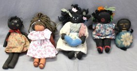 5 Antique & Vintage Black Dolls