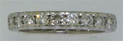 PLATINUM DIAMOND ETERNITY BAND 115CTSTW