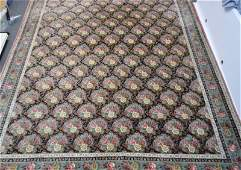 LARGE WOOL AREA RUG 9x12 FT  SOUTHEASTERN GALLERIES