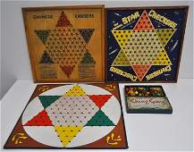 LOT CHINESE CHECKERS GAME BOARDS  GAMES