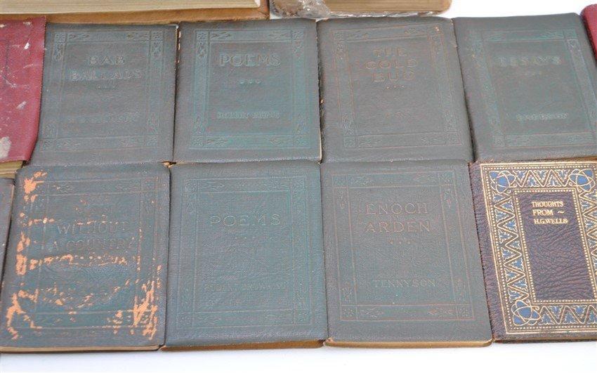 19 pc ANTIQUE COLLECTIBLE BOOKS - 3