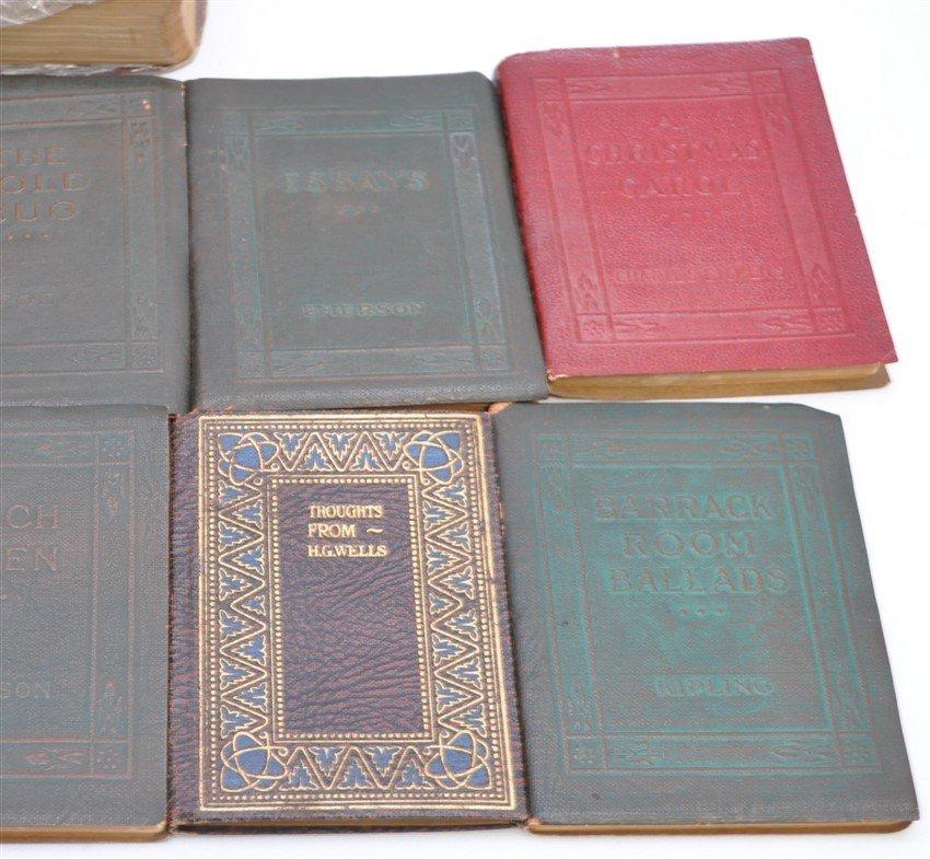 19 pc ANTIQUE COLLECTIBLE BOOKS - 4