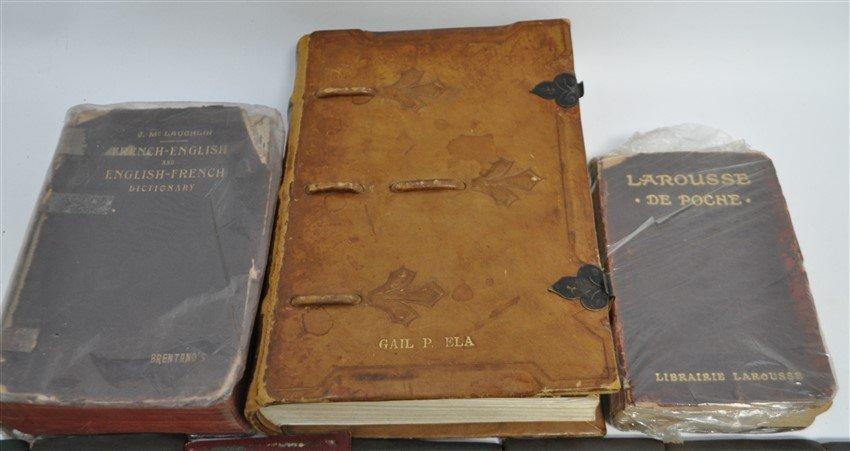 19 pc ANTIQUE COLLECTIBLE BOOKS - 5