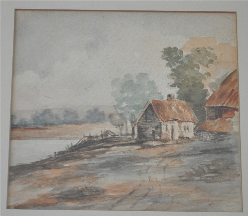 WATERCOLOR PENNSYLVANIA C. 1920s - 2
